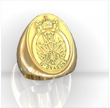 13EME RDP - Or massif jaune ou gris - selon cours du jour de l'Or et taille de doigt