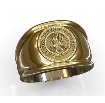 Légio Patria Nostra  - Or massif jaune ou gris - Armée de Terre Sur devis selon cours du jour de l'Or et taille de doigt