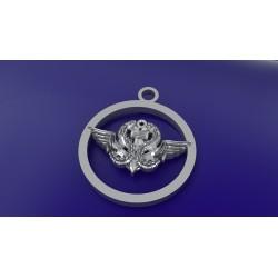 CHEVALIERE CROIX DE LORRAINE - Or massif jaune ou gris - Armée de Terre Sur devis selon cours du jour de l'Or et taille de doigt