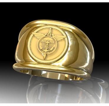 6EME RPIMa - Or massif jaune ou gris - selon cours du jour de l'Or et taille de doigt