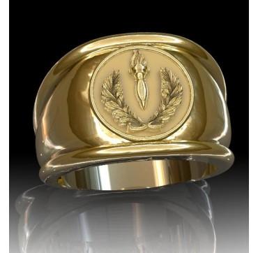 CRS - Or massif jaune ou gris - selon cours du jour de l'Or et taille de doigt