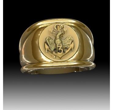 3EME RIMa - Or massif jaune ou gris - Armée de Terre Sur devis selon cours du jour de l'Or et taille de doigt