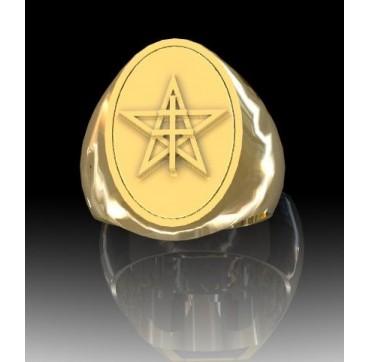 1ER SPAHIS - Or massif jaune ou gris - Armée de Terre Sur devis selon cours du jour de l'Or et taille de doigt