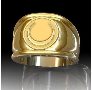 TIRAILLEURS  Or massif jaune ou gris - Armée de Terre Sur devis selon cours du jour de l'Or et taille de doigt