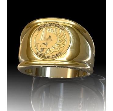 Légion étrangère 2EME REP - Or massif jaune ou gris - Armée de Terre Sur devis selon cours du jour de l'Or et taille de doigt