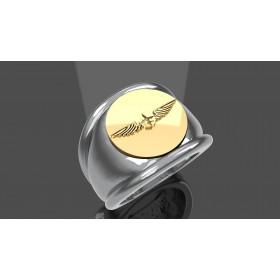 ONU YOUGOSLAVIE  - Or massif jaune ou gris - Armée de Terre Sur devis selon cours du jour de l'Or et taille de doigt