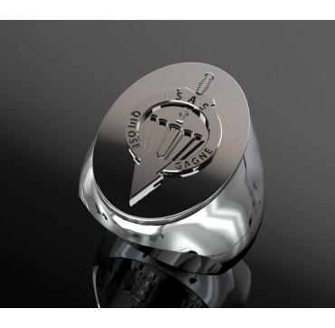 1er RPIMa ovale- Argent massif - Armée de Terre
