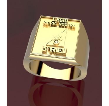 3EME REI  - Or massif jaune ou gris - Armée de Terre Sur devis selon cours du jour de l'Or et taille de doigt