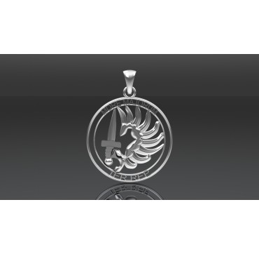 PENDENTIF LEGION ETRANGERE 1ER REP MORE MAJORUM