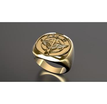 CPA10 - Or massif jaune ou gris - selon cours du jour de l'Or et taille de doigt