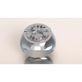 CHASSEURS ARDENNAIS - Or massif jaune ou gris - selon cours du jour de l'Or et taille de doigt - Belgique