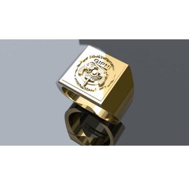 GIPN - Or massif jaune ou gris - selon cours du jour de l'Or et taille de doigt