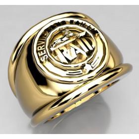 17EME RGP - Or massif jaune ou gris - selon cours du jour de l'Or et taille de doigt