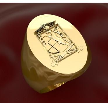 35eme RAP - Or massif jaune ou gris - selon cours du jour de l'Or et taille de doigt
