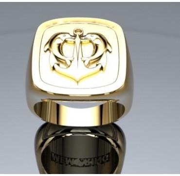 PLONGEUR DE BORD - Or massif jaune ou gris - selon cours du jour de l'Or et taille de doigt