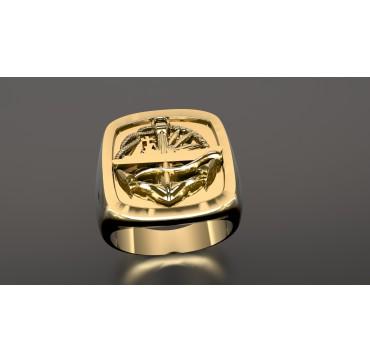 Surfaciers supérieurs - Or massif jaune ou gris - selon cours du jour de l'Or et taille de doigt