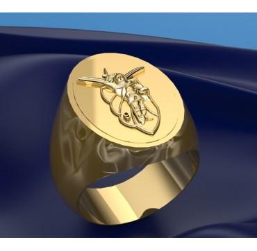 9EME RCP - Or massif jaune ou gris - selon cours du jour de l'Or et taille de doigt